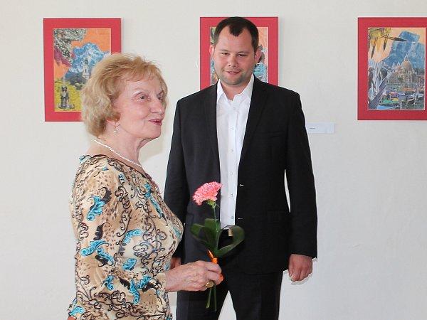 Mezi oceněnými přednášejícími byla také historička Jana Volfová, která na U3V přednáší nejdéle ze všech.