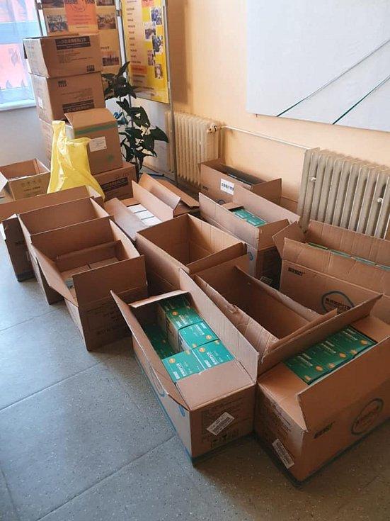 Distribuční centra jsou připravena