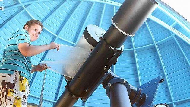 Hvězdárna v Mladé Boleslavi představila nové dalekohledy