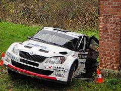 Nehoda posádky Vágner / Gross během Rallye Krkonoše měla tragické následky