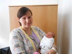 NIKOLA Svobodová přišla na svět 26. září s mírami 2,67 kg a 46 cm. S maminkou Kateřinou a tatínkem Václavem bude bydlet v obci Boseň.
