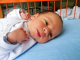 Tomáš Najman se narodil 12. ledna mamince Simoně a tatínkovi Radkovi. Vážil 2,85 kg a měřil 50 cm.