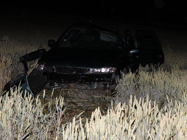 Ukrajinec nezvládl řízení a narazil do stromu u silnice