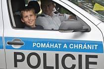 Preventivní akce policie pro děti v Bělé pod Bezdězem