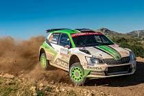 Na start Rally Bohemia se postaví i trio továrních jezdců v čele s Janem Kopeckým. Juuso Nordgreenem z Finska a Ole Christianem Veibym z Norska (na snímku).