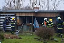 K zásahu stačila hasičům jediná proudnice.