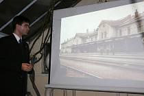 Diskuze o budoucnosti budovy hlavního nádraží v Mladé Boleslavi.