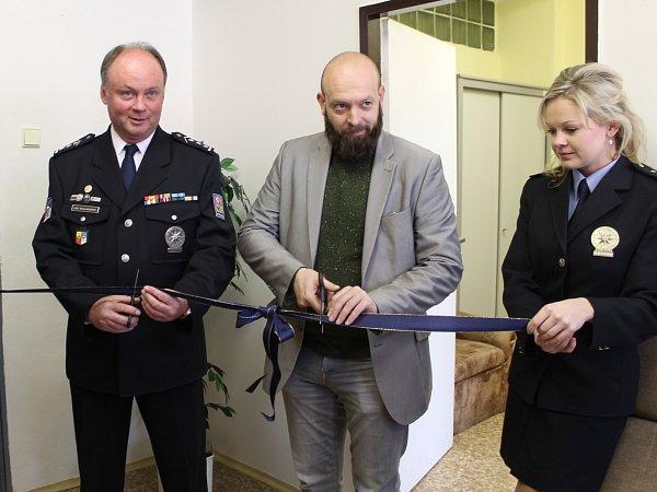 Otevření výslechové místnosti vMladé Boleslavi