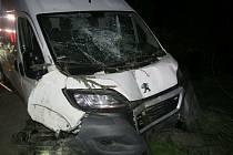 Dopravní nehoda vobci Úherce.