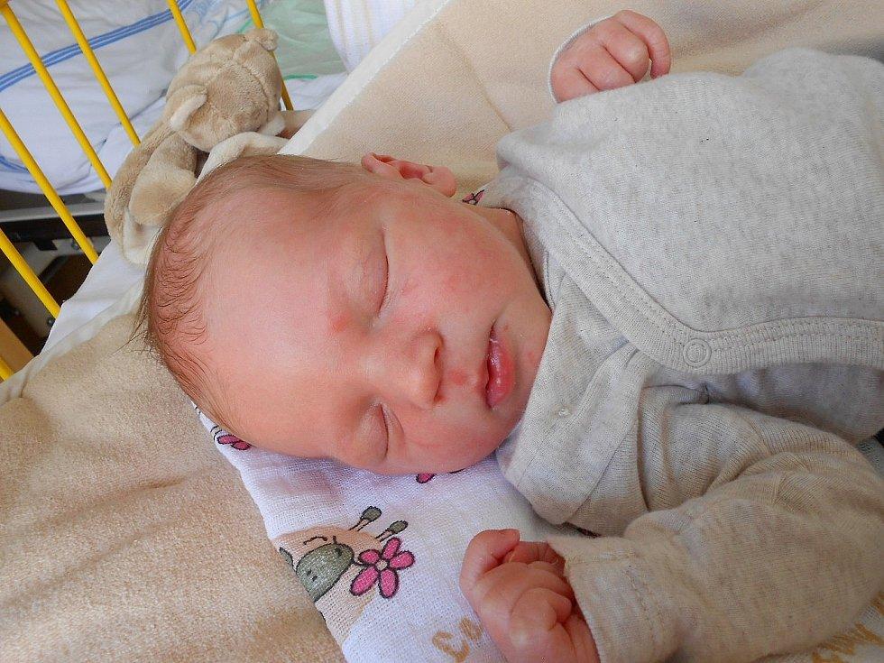 Vít Slánský se narodil 24. listopadu, vážil 3,9 kg a měřil 51 cm. S maminkou Hanou a tatínkem Tomášem bude bydlet v obci Plazy.