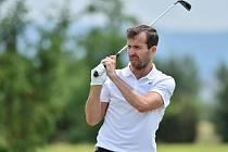 Tenista golfista Radek Štěpánek.
