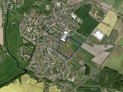 Výsluní leží ve východní části Bakova.