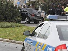 Nehoda na kruháči v Boleslavi