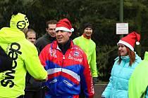 První veřejný Vánoční výběh na Chlum.