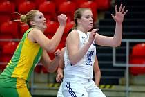 Basket Slovanka Mladá Boleslav. Ilustrační foto.