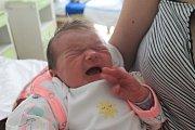 Nina Csonková se narodila první srpnový týden, vážila 3,85 kg a měřila 51 cm. Maminka Pavla a tatínek Filip si ji odvezou do Mnichova Hradiště.