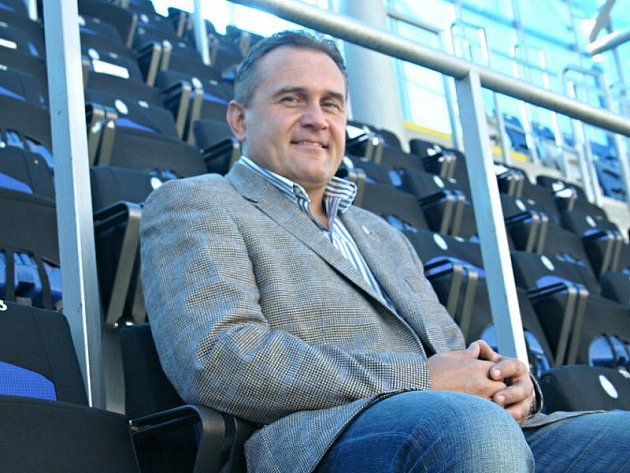 Prezident FK Mladá Boleslav Josef Dufek.