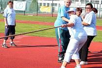 Sportovní hry seniorů, které se konaly v září na 6. základní škole v Mladé Boleslavi