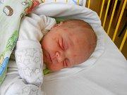 Václav Chládek se narodil 6. listopadu, vážil 3,44 kg a měřil 51 cm. S maminkou Petrou a tatínkem Václavem bude bydlet v Mladé Boleslavi.