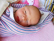Anička Šťastná se narodila 5. prosince s váhou 3,65 kg. S maminkou Denisou a tatínkem Radkem bude bydlet v Loučeni.