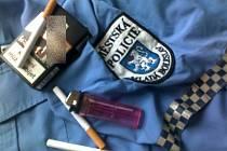cigarety zajištěné MP - ilustrační foto