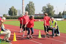 Sportovní hry seniorů odstartovaly v pondělí na 6. základní škole