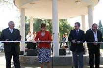 Slavnostní otevření zrekonstruovaného bělského náměstí