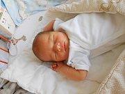 Marek Koudelka se narodil 9. září, vážil 3,25 kg a měřil 48 cm. Maminka Petra a tatínek Jaroslav si ho odvezou domů do Mnichova Hradiště, kde už se na něho těší bráška Jakub.