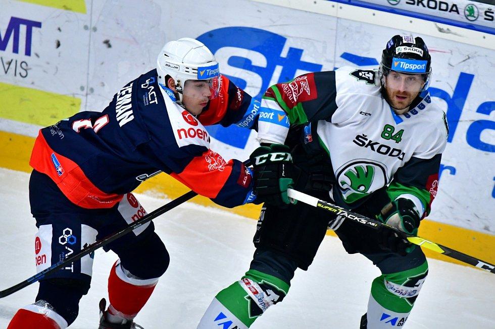 Hokejista Mladé Boleslavi Lukáš Pabiška