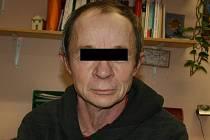 Bezdomovec Michal, který využívá služeb Naděje.