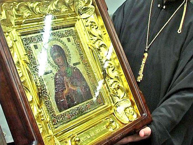 Obraz, ze kterého stékají slzy. To je světová ikona milionů věřících – obraz Přesvaté bohorodičky Panny Marie.