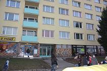 Panelový dům v Havlíčkově ulici v Mladé Boleslavi. Ilustrační snímek.
