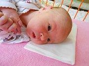 Sofie Božena Hropková se narodila 30. prosince, vážila 3,35 kg a měřila 50 cm. S maminkou Lenkou a tatínkem Michalem bude bydlet v Luštěnicích, kde už se na ni těší sestřička Nikolka.