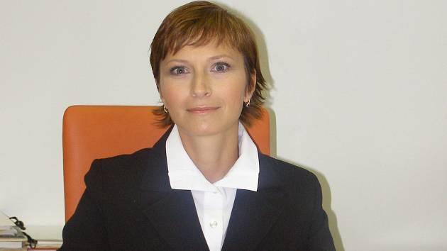 Starostka Bakova Jana Štěpánová