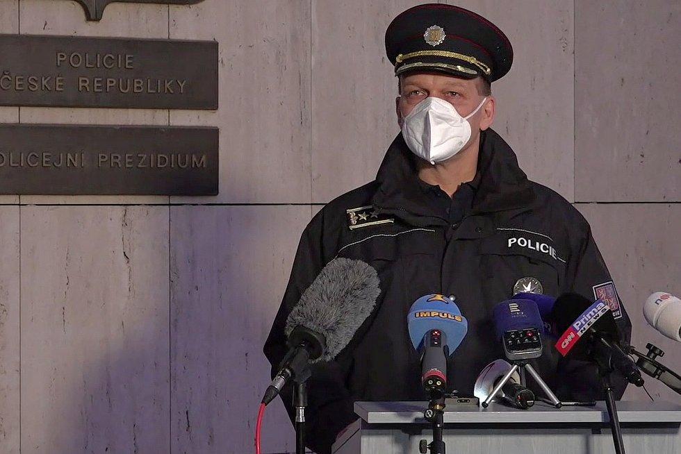 První náměstek policejního prezidenta Martin Vondrášek.