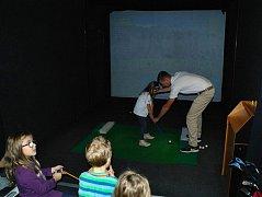 Golfové FSG simulátory jsou ideální tréninkovou metodou pro zimní období hlavně pro mládežnické hráče.