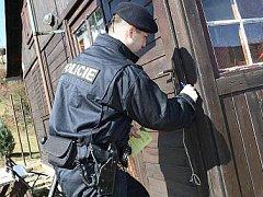 Ilustrační foto. Policisté varují majitele chat před vloupáním zlodějů