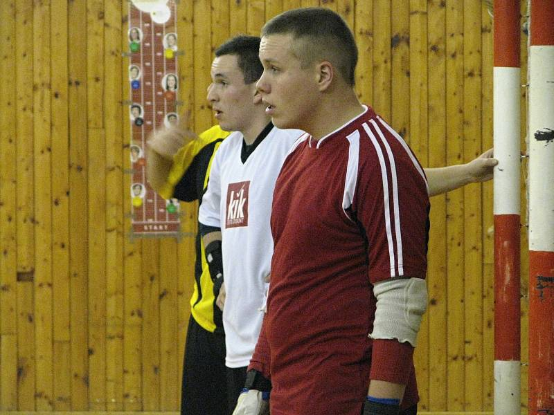 Okresní futsalová soutěž: DFK Mnichovo Hradiště - MBV Mladá Boleslav