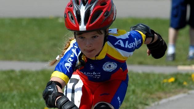 V Benátkách soutěžili na kolečkových bruslích i ti nejmenší závodníci s obrovským zaujetím