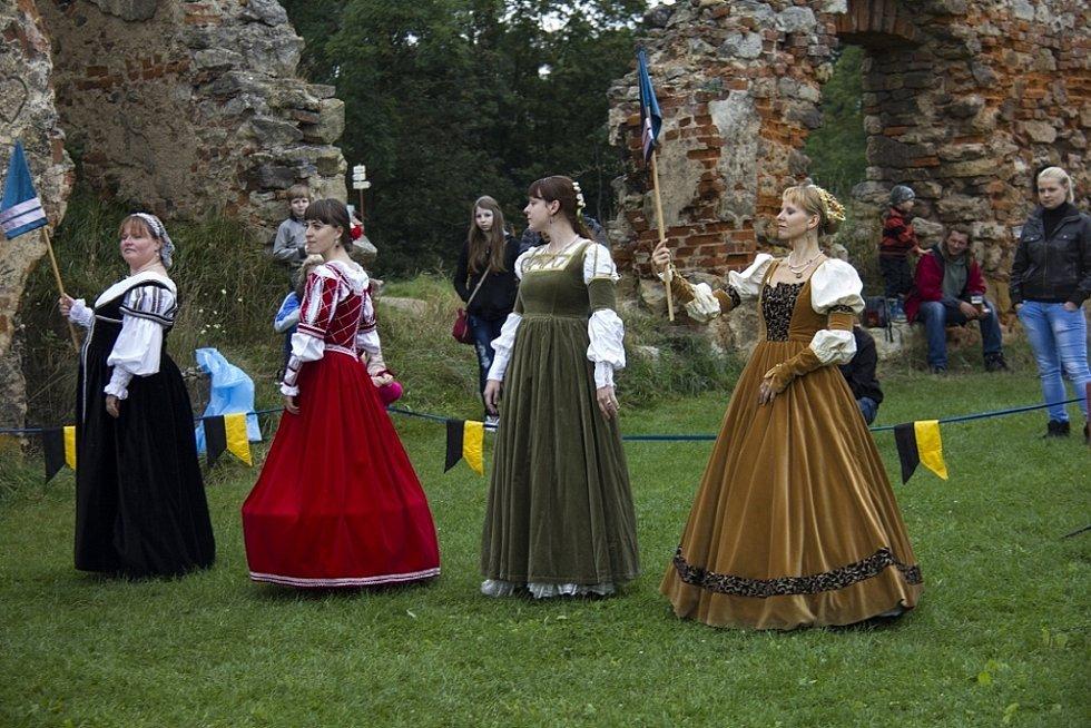 Historický den na hradě Zvířetice