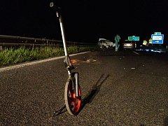 Při nehodě na rychlostní silnici zemřel řidič