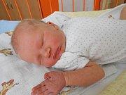 Vojtíšek Kolaja se narodil 19. května, vážil 3,51 kg a měřil 52 cm. S maminkou Vlaďkou a tatínkem Tomášem bude bydlet v Benátkách nad Jizerou.