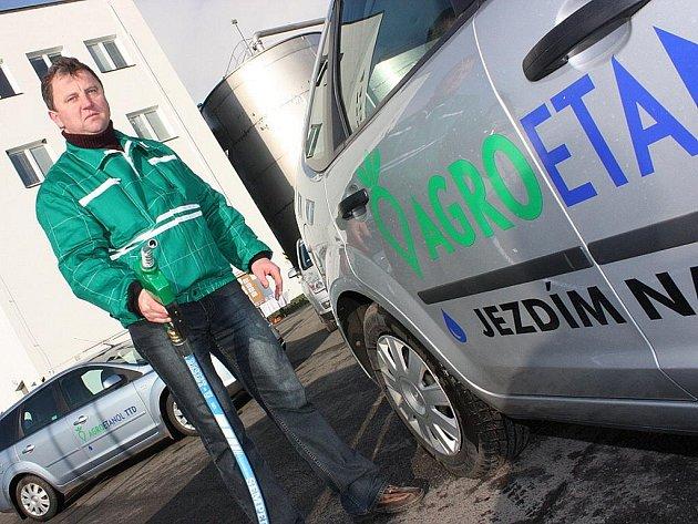 Dobrovická společnost TTD vyrábí biopalivo E85.