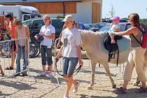 Koně na Dětském dni budou patřit dětem