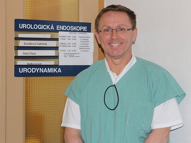 Primář urologického oddělení Richard Pabišta