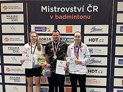 Kateřina Zuzáková, Lukáš Zevl a Denisa Šikalová.
