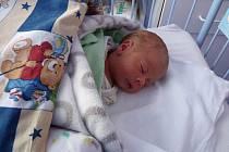 VOJTÍŠEK Mlejnek se narodil 25. května, vážil 2,4 kilogramů a měřil 45 centimetrů.  Maminka Monika a tatínek Zdeněk si ho odvezli domů do Honsobu, za sestřičkou Markétkou.