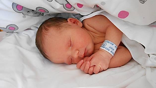 Melania Drachneva se narodila 2. června, vážila 2,81 kg a měřila 48 cm.