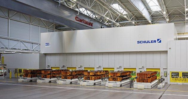 Nová výrobní linka v boleslavské automobilce