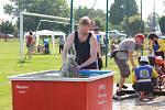 Další díl soutěže Boleslavského poháru v požárním útoku se odehrál v Chotětově